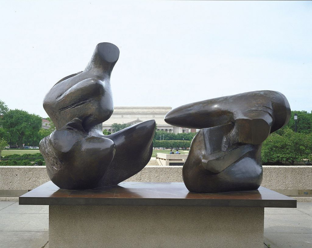 Two-Piece Reclining Figure: Points