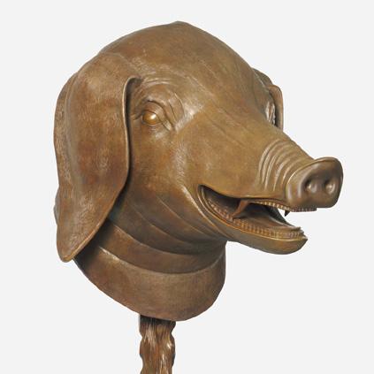Circle of Animals/Zodiac Heads - Boar