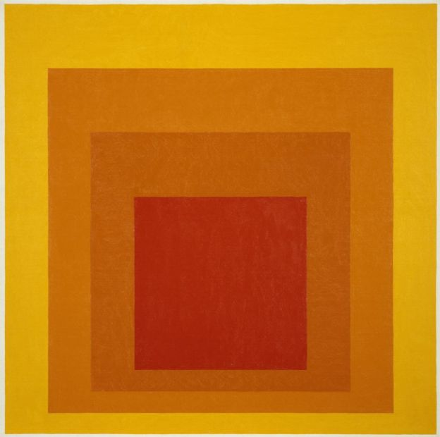 Josef Albers: Homage to the Square: Glow, 1966