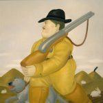 Fernando Botero The Hunter