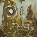 George Grosz The Painter of the Hole I