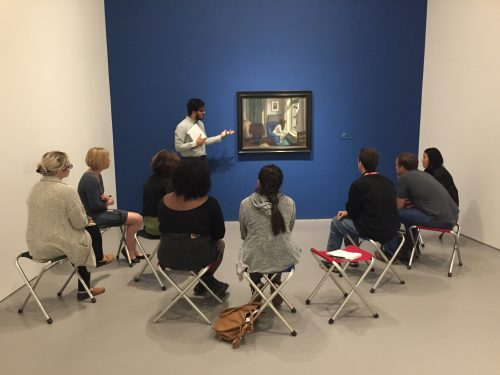 Gallery Guide discussing Edward Hopper's Eleven A.M. in Hirshhorn Masterworks.