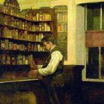 John Covert John Coverts Father in His Pharmacy