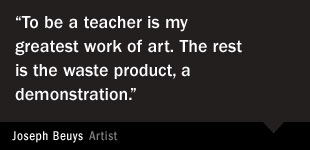 Joseph Beuys Quote