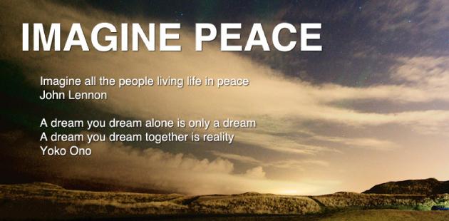 Yoko Ono Imagine Peace