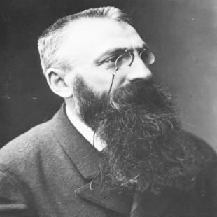 Auguste Rodin Portrait