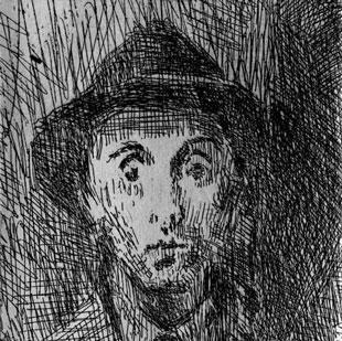 Raphael Soyer Self Portrait