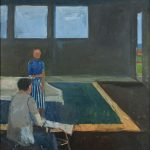 Richard Diebenkorn Man and Woman in a Large Room