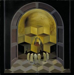 """Salvador Dalí """"Skull of Zurbarán"""""""