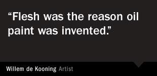 Willem de Kooning Quote