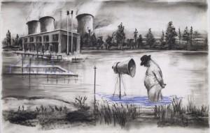 "William Kentridge ""Drawing from 'Stereoscope'"""