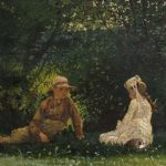 Winslow Homer Scene at Houghton Farm