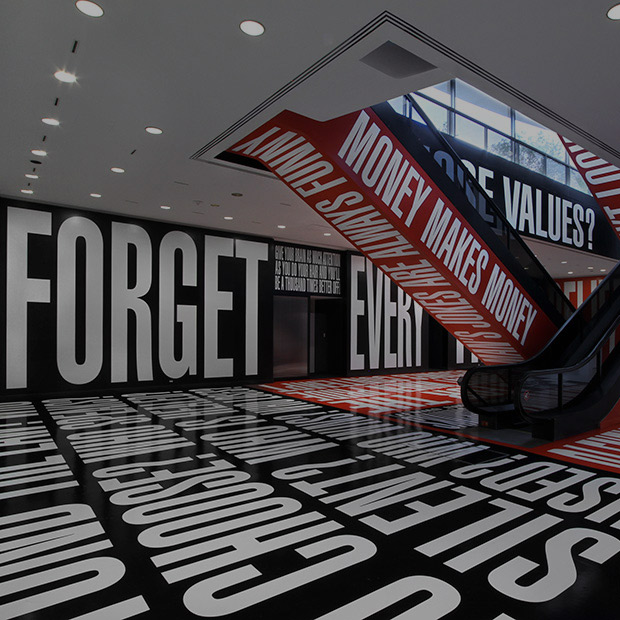 Barbara Kruger: Belief+Doubt–Currently on view