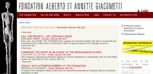 Alberto Giacometti Foundation