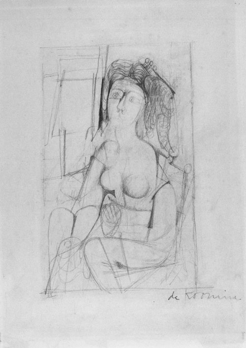 Willem de Kooning Queen of Hearts: Figure 2