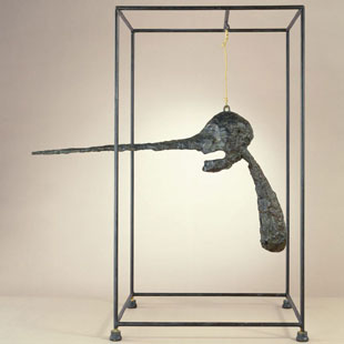 Alberto Giacometti: The Nose, (1947, cast c. 1960-65)