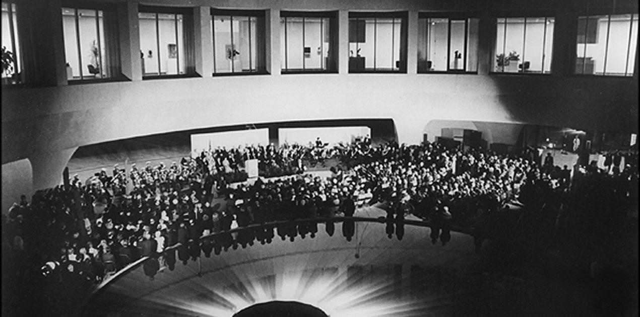 Hirshhorn Museum Opening 1974