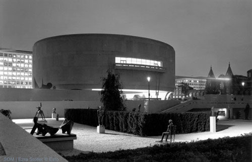 Skidmore, Owings and Merrill View of Hirshhorn