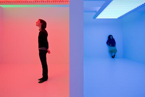 Suprasensorial: Carlos Cruz-Diez Installation Shot