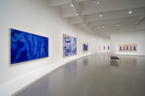 Yves Klein Exhibition