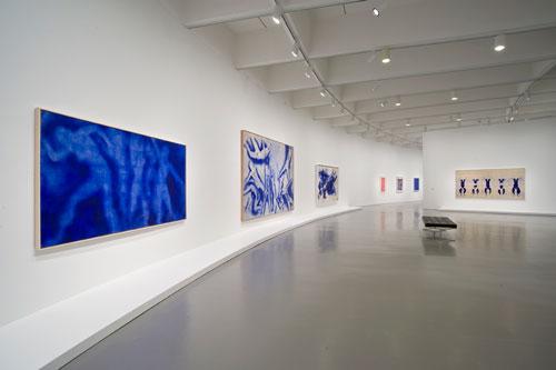 Yves Klein Exhibition