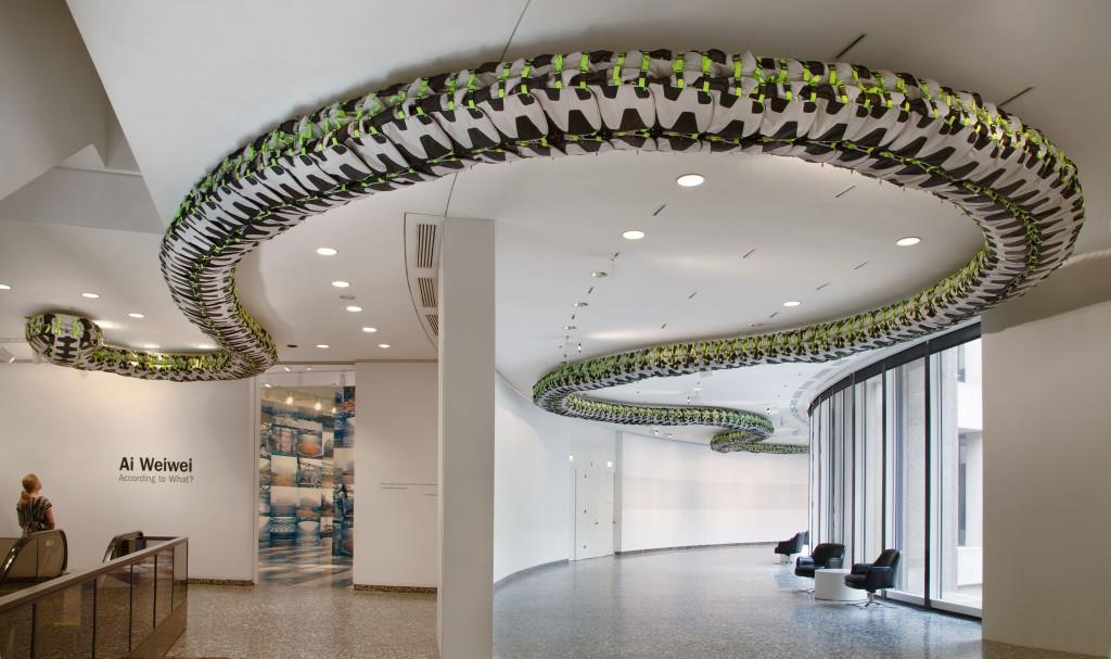 Snake Ceiling