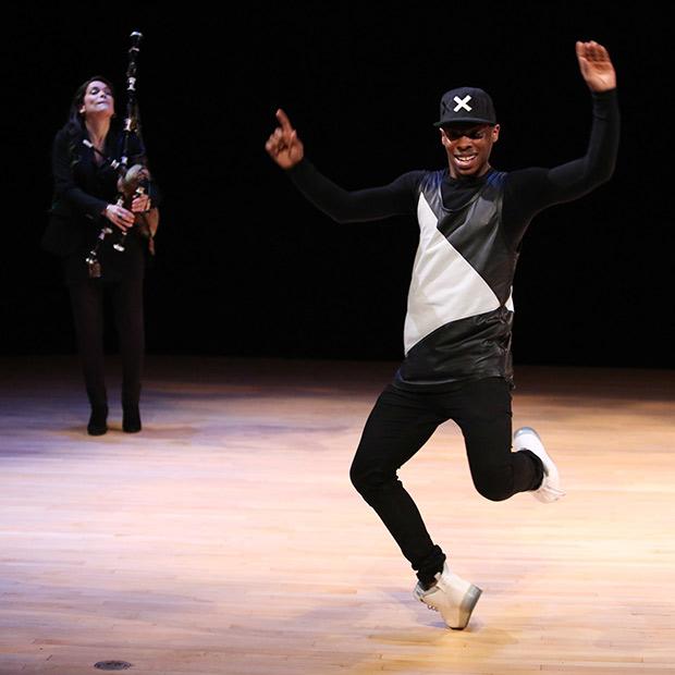 Lil Buck performs his uniquely fluid street dance