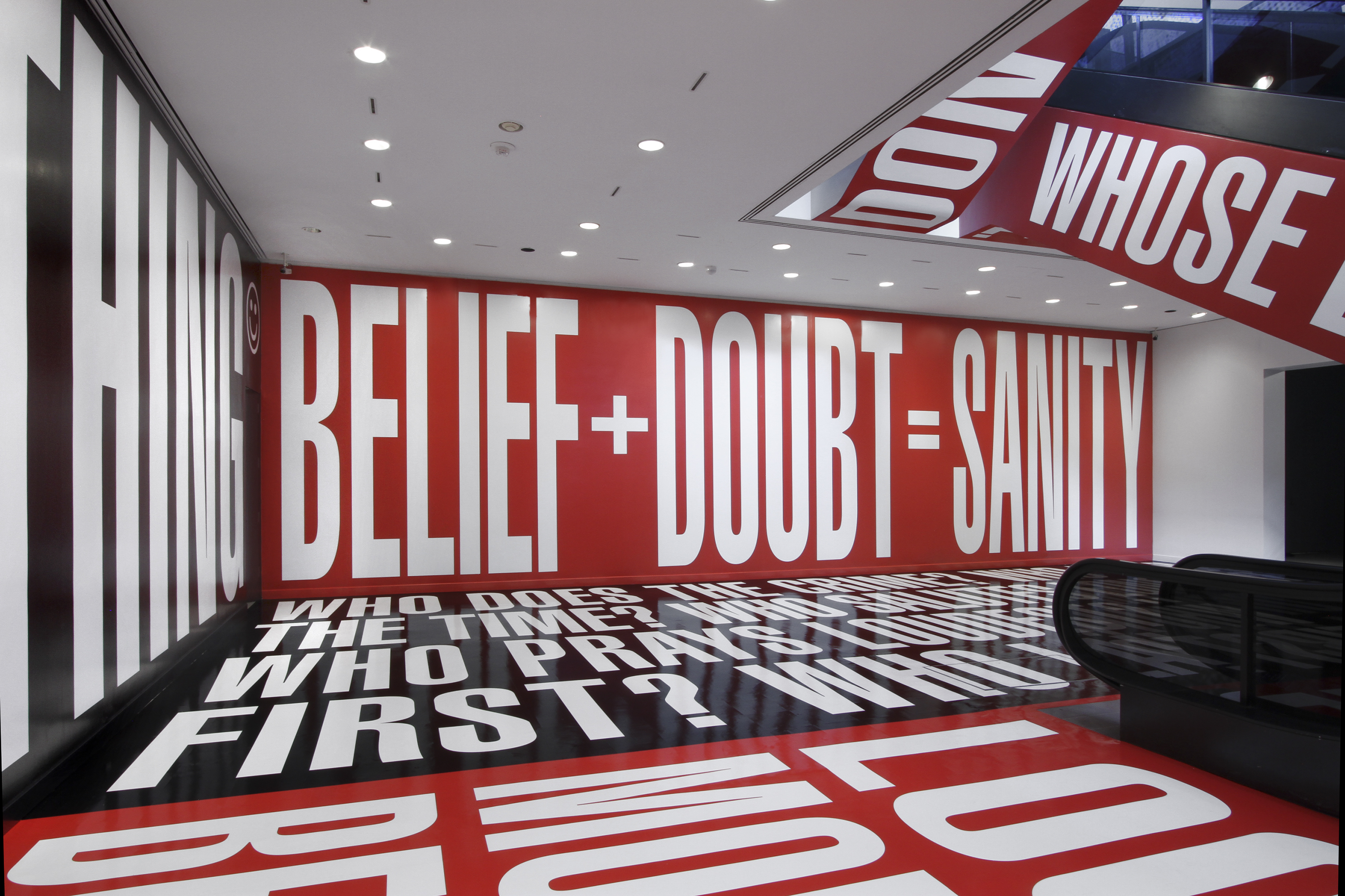 Barbara Kruger: Belief+Doubt