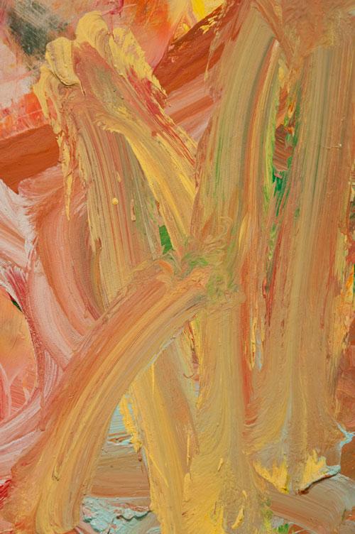 "Willem de Kooning: ""Woman"" in detail"