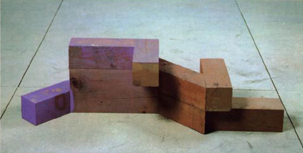 Directions: Joel Shapiro: Painted Wood