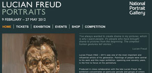 Lucian Freud: National Portrait Gallery