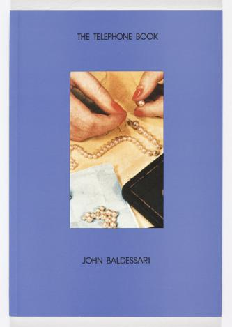 The Telephone Book (with Pearls) by John Baldessari book cover