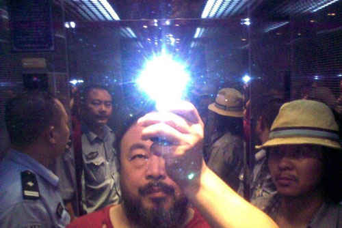 "Still from Ai Weiwei's ""Ai Weiwei: Never Sorry,"" 2012"