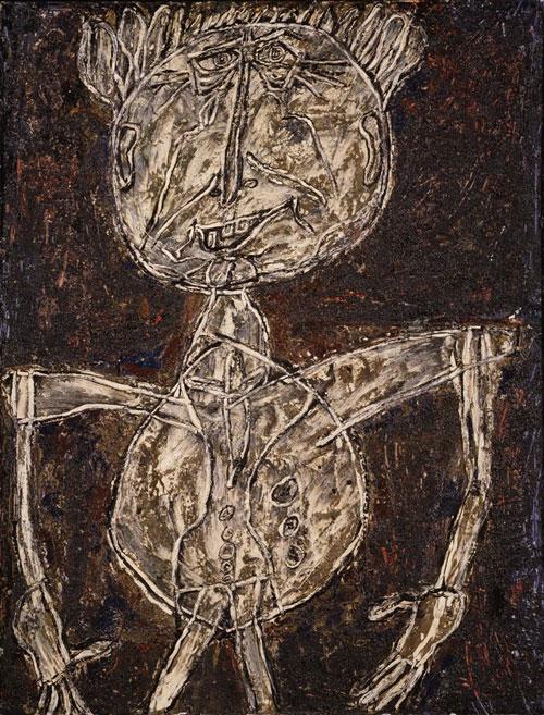 """Jean Dubuffet's """"Limbour as a Crustacean"""""""
