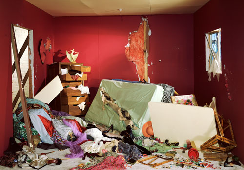 Jeff Wall, The Destroyed Room