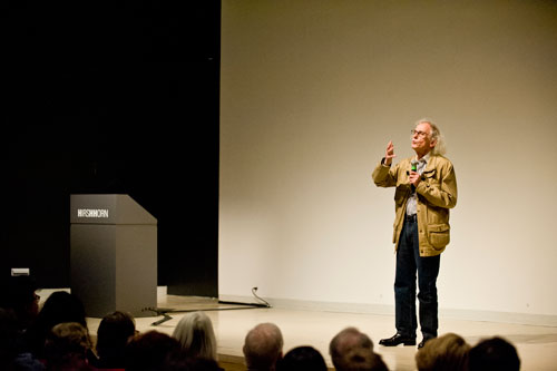 Meet the Artist: Christo. Photo ©Randy Hill