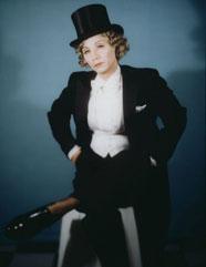 "Yasumasa Morimura, ""Self Portrait (Actress)/After Marlene Dietrich 2"""