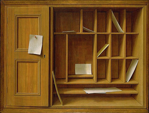 "George Tooker, ""The Letter Box,"" 1953"