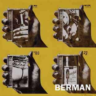 "Wallace Berman, ""Untitled (Four Hands with Radios),"" c. 1965"