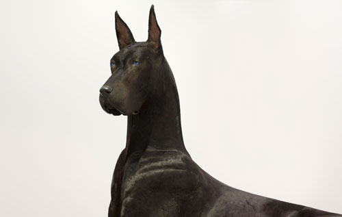 Peter Coffin, Untitled (Dog), 2012. Courtesy of the artist and Mugrabi Collection. © Peter Coffin. Photo: Cathy Carver