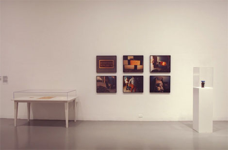 """John Baldessari, """"Cremation Project, Corpus Wafers (With Text, Recipe and Documentation),"""" 1970"""