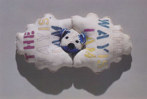 Mike Kelley, I Am, 1989. Private collection, Los Angeles