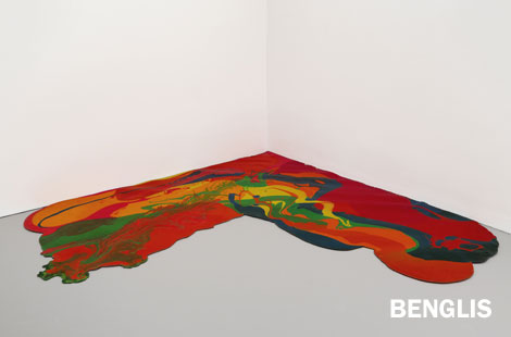 Lynda Benglis, Corner Piece, 1969. © Lynda Benglis/Licensed by VAGA, New York. Hirshhorn Museum and Sculpture Garden, Smithsonian Institution, Washington DC