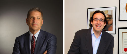 Steve Elmendorf and Mark Rosman