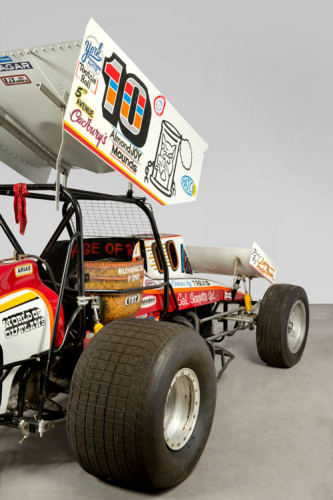 Salvatore Scarpitta, Trevis Race Car (Sal Gambler Special) (detail), 1985. Hirshhorn Museum and Sculpture Garden, Smithsonian Institution, Washington DC. Photo: Lee Stalsworth