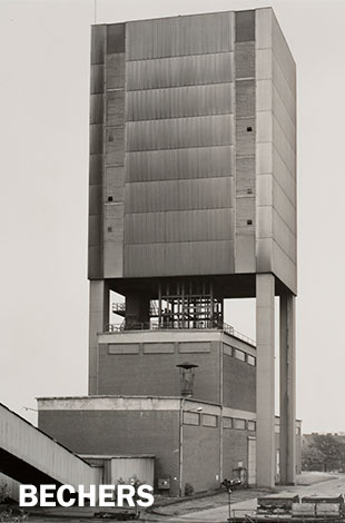 Bernd and Hilla Becher, Winding Towers, 1966-1989, 2004