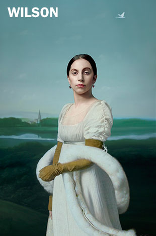 Robert Wilson, Lady Gaga: Mademoiselle Caroline Rivière d'après Jean-Auguste-Dominque Ingres, 2013. © Robert Wilson. Photo courtesy of the artist and Paula Cooper Gallery