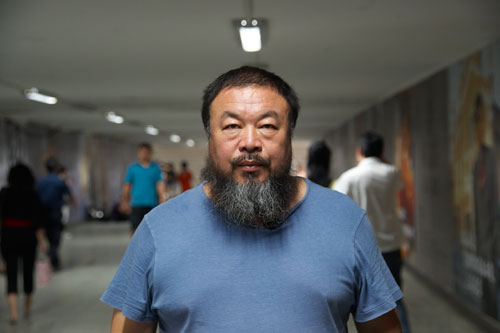 Still from Andreas Johnsen's Ai Weiwei the Fake Case, 2013