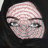 Shirin Neshat, I Am It's Secret (Women of Allah), 1993