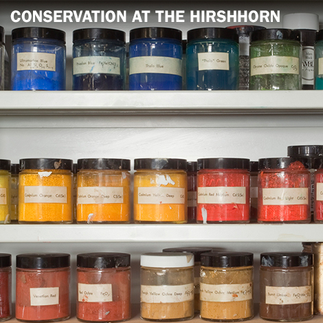 Conservation at the Hirshhorn